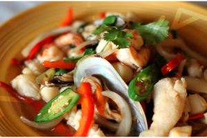Hot and Spicy Seafood - delivery menu
