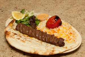 Ground Beef Kubideh Kabob - delivery menu