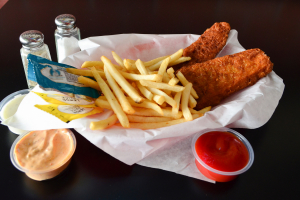 Fish and Chips Basket - delivery menu