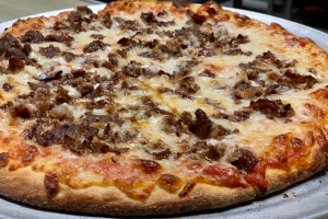 Med Philly Steak Pizza - delivery menu