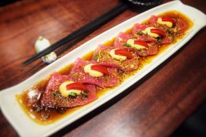 Tuna Carpaccio - delivery menu