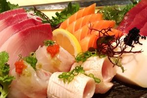 Omakase sashimi - delivery menu