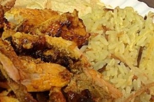 Ani's Chicken Shawarma Dinner - delivery menu