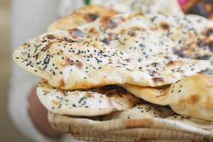68. Sesame Naan - delivery menu