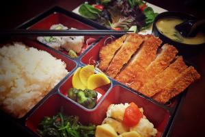Pork Cutlet Bento Box - delivery menu