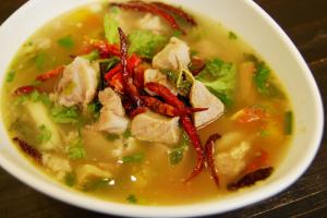 Thai Spicy Pork Rib Soup (Tom Zap) - delivery menu