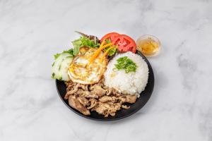C4. Grilled Shredded Pork and Eggs Com - delivery menu
