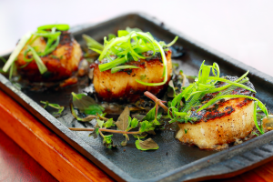 3. Grilled Scallops - delivery menu