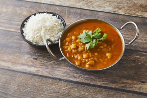 Chana Masala Curry - delivery menu