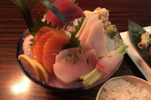 Sashimi Lunch - delivery menu