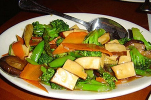 122. Tofu with Vegetables - delivery menu