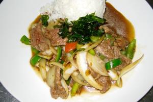 Kra Pow Dinner ** - delivery menu