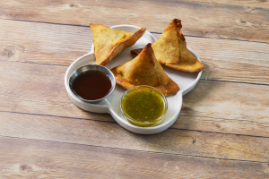 Samosa Chat - delivery menu