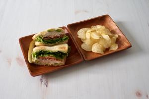 F1. Turkey Club Sandwich - delivery menu