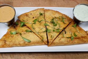 Blackened Shrimp Quesadilla - delivery menu