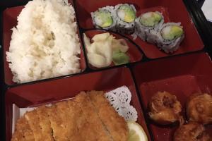 Chicken Katsu Lunch Bento Box - delivery menu