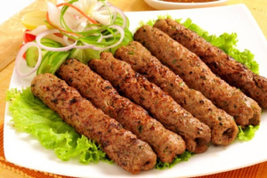 16. Chicken Seekh Kabab - delivery menu