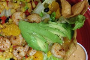 Chipotle Orange Shrimp Salad - delivery menu