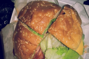 153. Double Cheeseburger - delivery menu