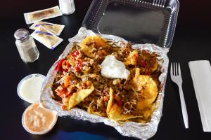 Philly Nachos - delivery menu