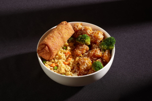 C36. Sesame Chicken Combo - delivery menu