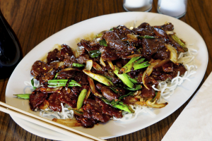 1. Mongolian Beef - delivery menu