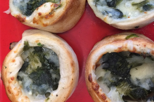 Spinach Pinwheel - delivery menu