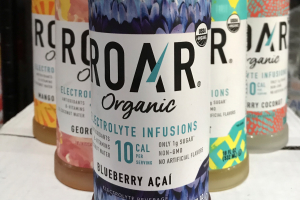 ROAR Organic Electrolyte infusions - delivery menu