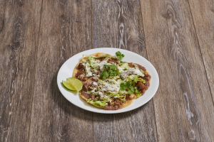 3 Carnitas Sopes - delivery menu