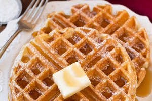 Belgian Waffles Breakfast - delivery menu