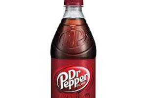 Dr Pepper : Bottle - delivery menu