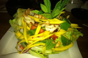 Mango Shrimp Salad - delivery menu