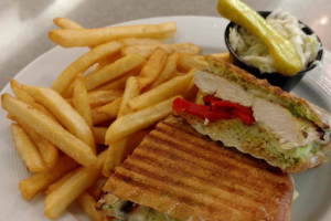 Chicken Avocado Panini - delivery menu