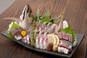 Aji Sashimi - delivery menu