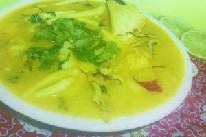 56. Seafood Soup - delivery menu