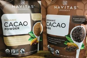 NAVITAS ORGANIC CACAO - delivery menu