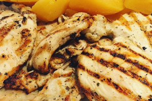 Grilled Chicken Plate - delivery menu