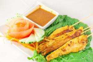 A9. Satay Chicken - delivery menu
