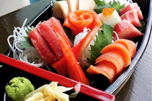 Sashi Mori - delivery menu