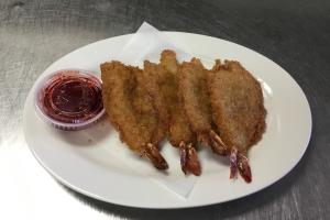 4. 4 Golden Fried Jumbo Shrimp - delivery menu