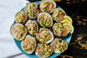 47. Clams in Spanish Style - delivery menu