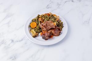 BBQ Ribs - delivery menu