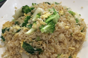 121. Vegetable Fried Rice - delivery menu