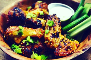 Wood Fired Wings - delivery menu
