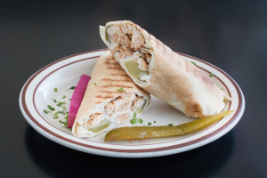 Chicken Shawarma Sandwich - delivery menu