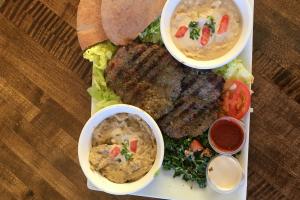 Kafta Beef Plate - delivery menu