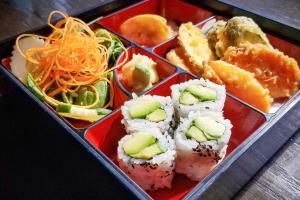 Vegetable Tempura Bento Box Lunch - delivery menu