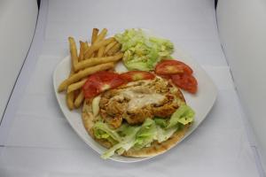 Chicken Pita Combo - delivery menu
