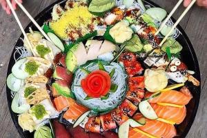 Medium Maki Tray ( serve 6 maki rolls ) - delivery menu