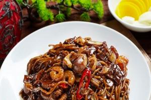 Seafood Jaengban Chajang - delivery menu